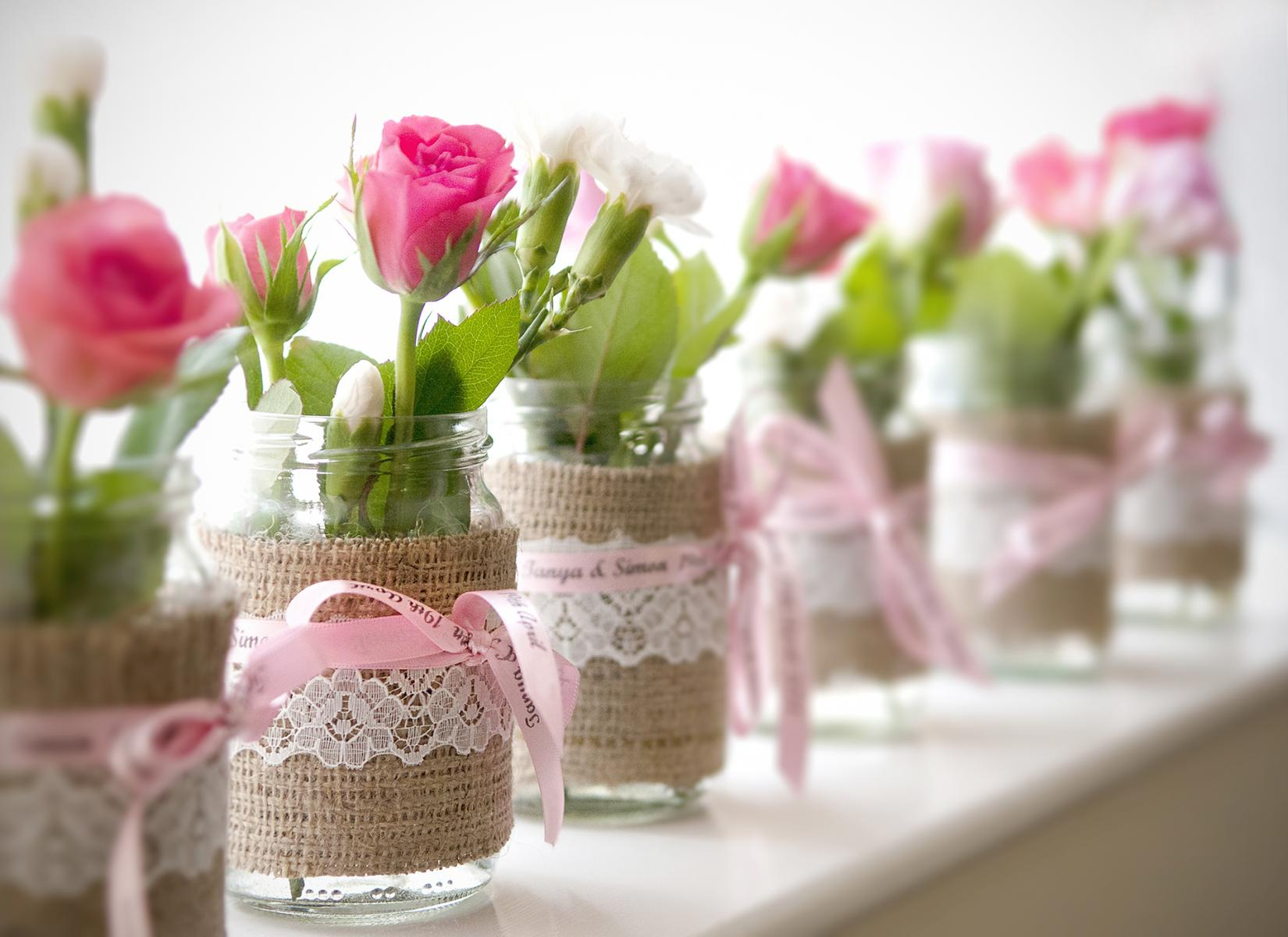 cardiff-weddings-rose-glass-jam-jar-wedding-favours-wedding-photographers-south-wales