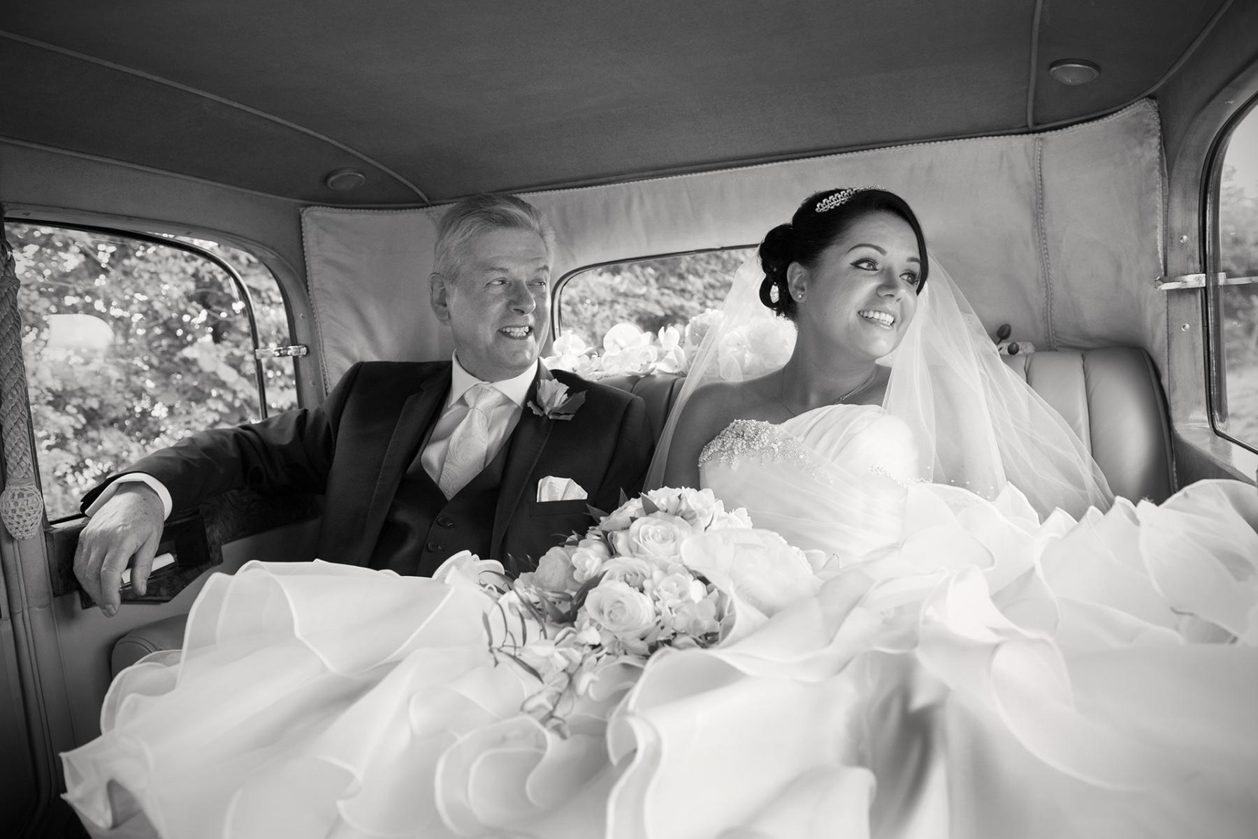 Cwmbran-wedding-photographer-bride-father-wedding-car-reportage-wedding=photographer-south-wales