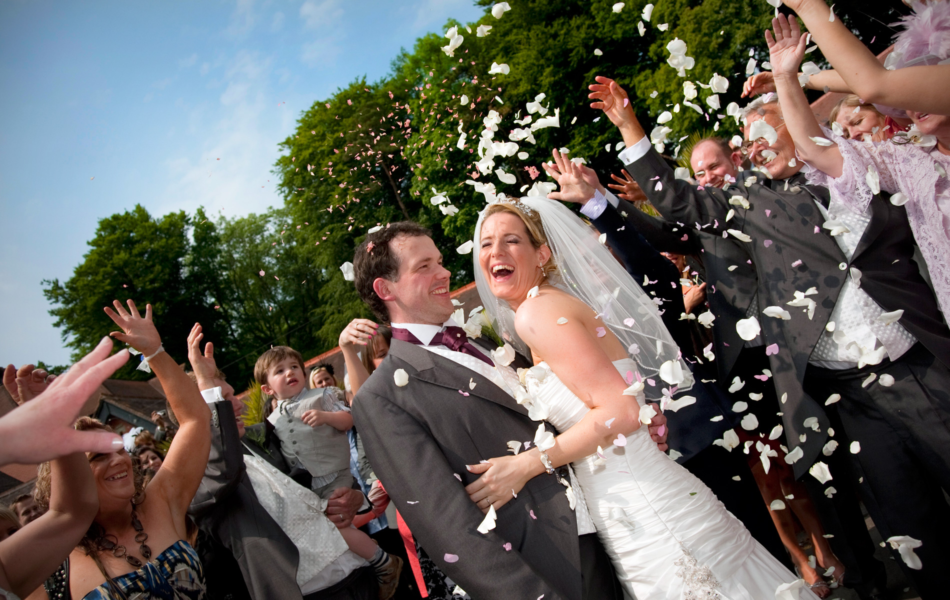 Coed-y-mwstwr-wedding-photographer-Confetti-wedding-laughing-bride