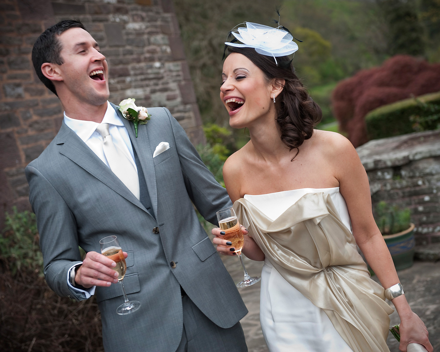 laughing-bride-groom-gliffaes-hotel-crickhowell-wedding-photography.