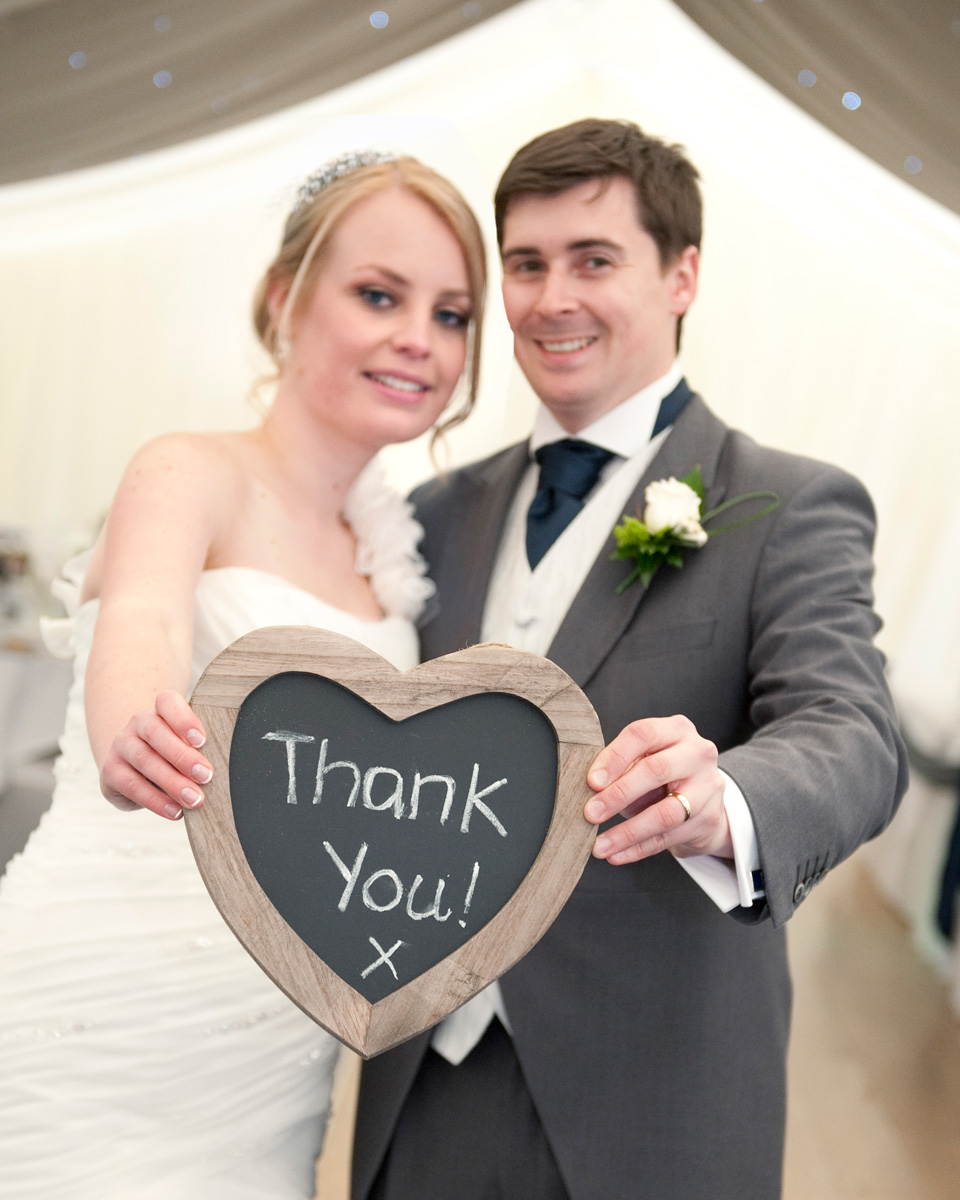 Llechwen-hall-wedding-photographer-Bride-groom-thank-you-heart-shaped-slate-south-wales-wedding-photographer
