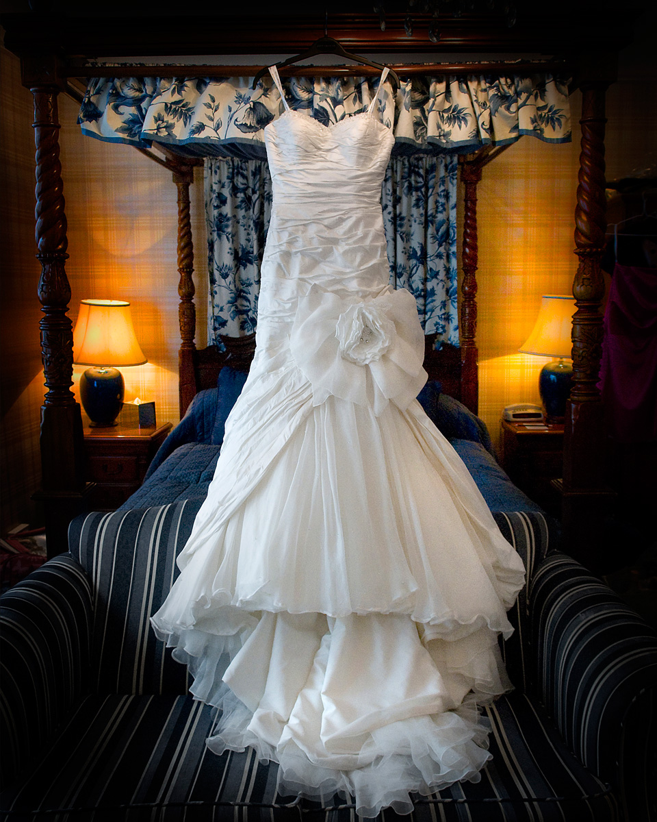 Bridal-gown-honeymoon-suite-Bear-hotel-cowbridge-wedding-photography